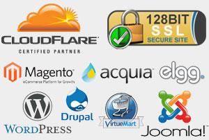 Opensource Website Logos