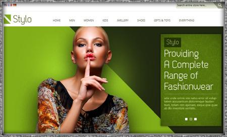 Shopping Cart Website Example
