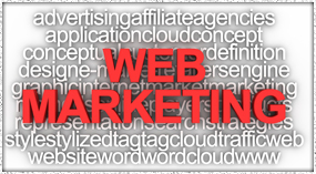 Marketing Word graphic