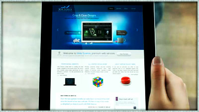 Tablet video splash image