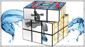 Mock-up Cube Picture By Web Science