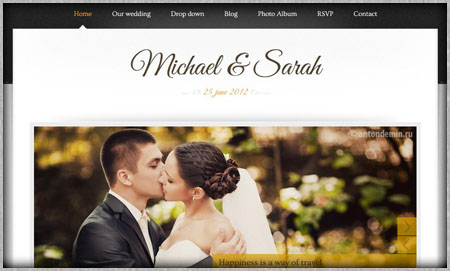 💐 Wedding website domain name examples